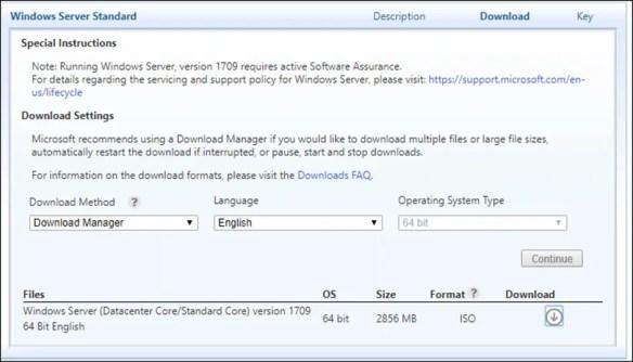 Deployment Overview Windows Server 2016 Version 1709 - Cloud