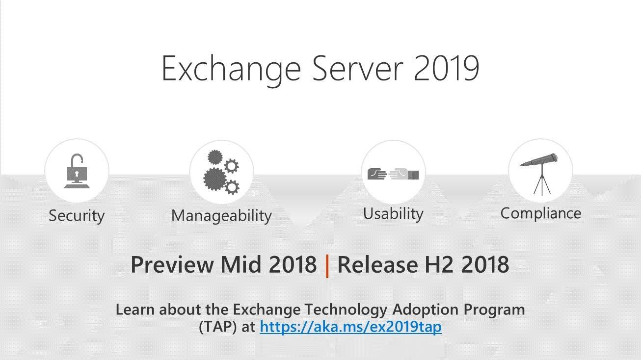 Exchange Server 2019 Announced Cloud And Devops Blog