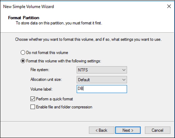 How to Create a Mount Point On Windows Server 2016 - Cloud