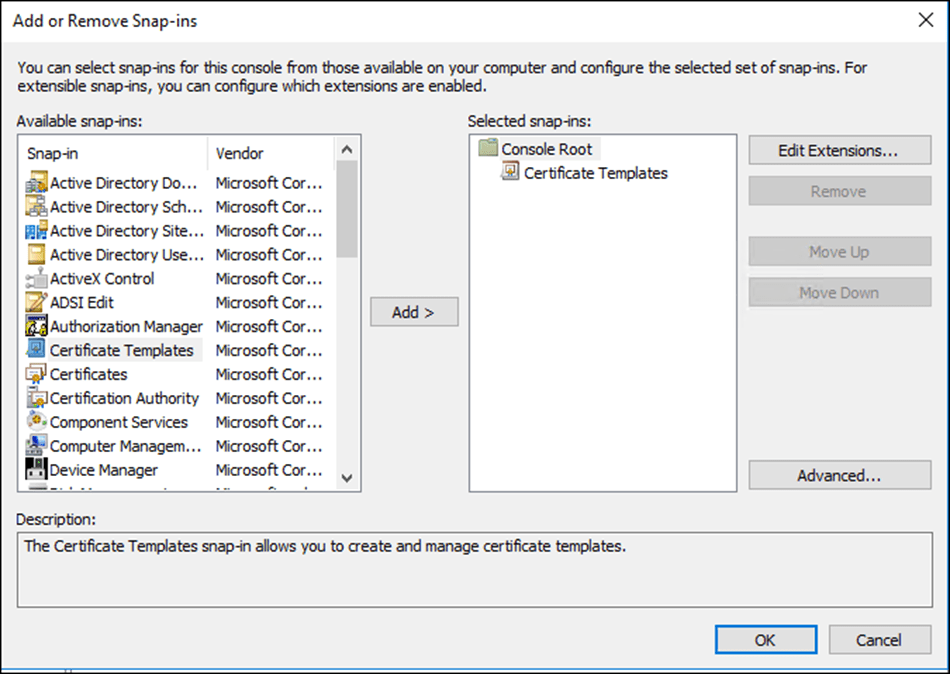 Certificate auto enrollment using group policy and windows server duplicate certificate template yelopaper Choice Image