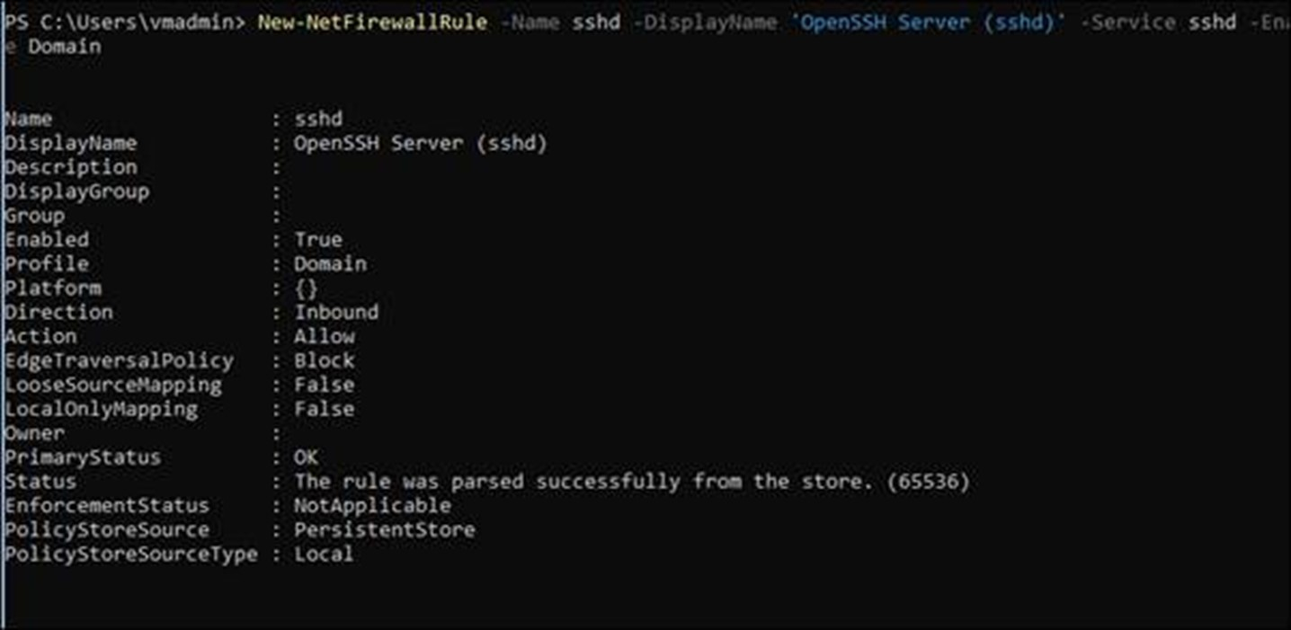 how to use openssh on windows