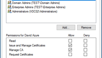 Certificate Auto-enrollment Using Group Policy And Windows