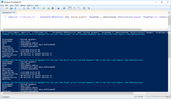 Add Multiple Users To Group Policy Filtering Using PowerShell