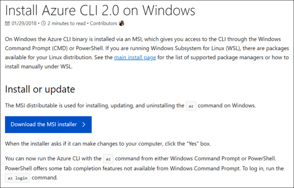 How to Use Azure CLI 2 0 - Cloud and DevOps Blog