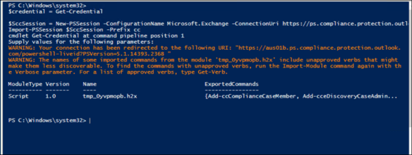 How to Connect to Office 365 Security & Compliance Center