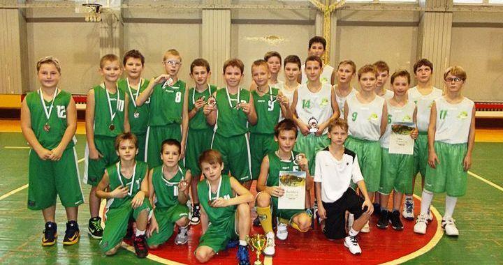 Kandavnieku panākumi starptautiskajā basketbola turnīrā