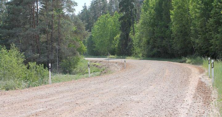 Bīstamā vieta uz ceļa Bieļas-Kaive operatīvi sakārtota