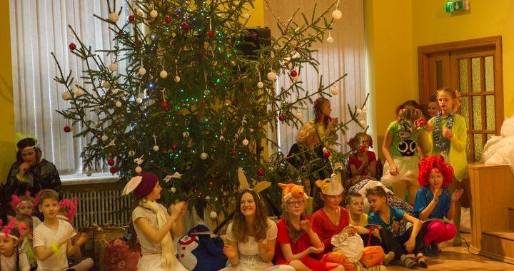 Ziemassvētki Kandavas internātvidusskolā
