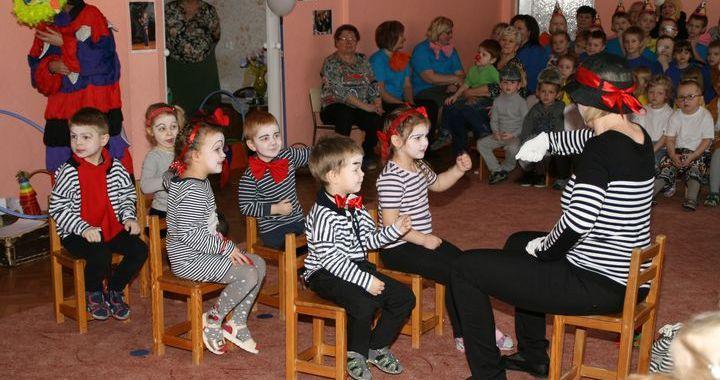 Tukuma bērnudārzā «Taurenītis» notikusi Cirka diena