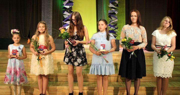 Sveica Engures novada labākos skolēnus