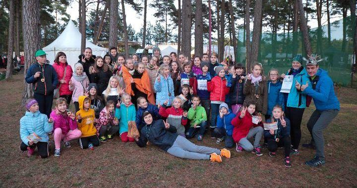 Engures vidusskolai 2.vieta Taku skriešanas sacensību «Stirnu buks» skolu čempionātā