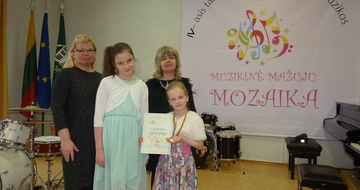 Tukuma vijolnieces gūst panākumus konkursos
