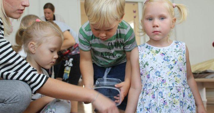 Mācās šķirot jau bērnudārzā