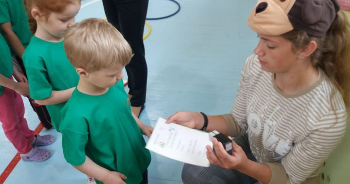 Jaunieši Jaunpilī organizē pasākumu bērniem