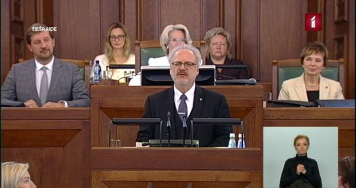Latvijas valsts prezidents – Egils Levits
