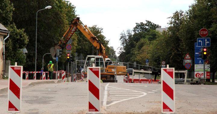 Raudas un Kurzemes ielas krustojums – slēgts