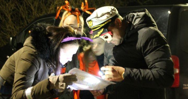 Kandavas «Helovīna  skrējienā»