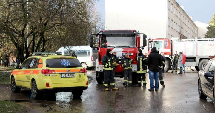 Gāzes izraisīta nelaime Kurzemes ielā 14