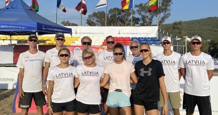 Sandis Bērziņš pārī ar Dāvi Teteri startē Eiropas čempionātā