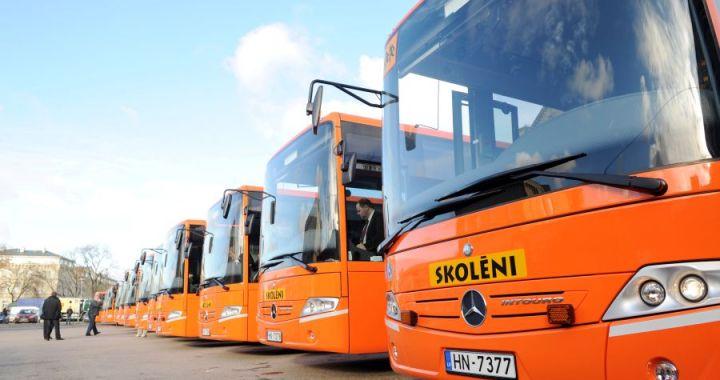 Atsākoties mācībām, atjauno vairākus autobusu reisus /pievienots saraksts/