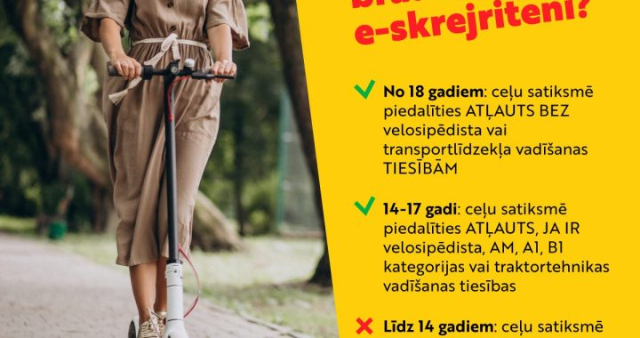 Šogad Tukumā traumas guvuši 3 nepilngadīgi velosipēdisti