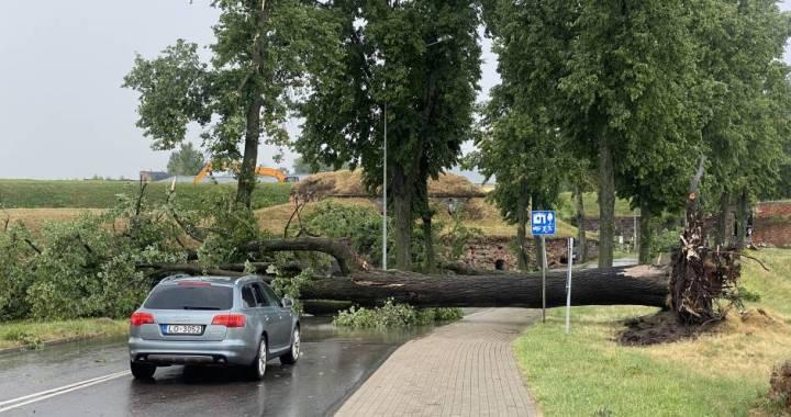 Latvijā izsludināts oranžais brīdinājums