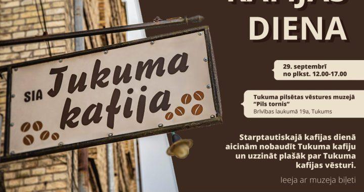 Šodien, 29. septembrī, «Kafijas diena» Tukuma «Pils tornī»