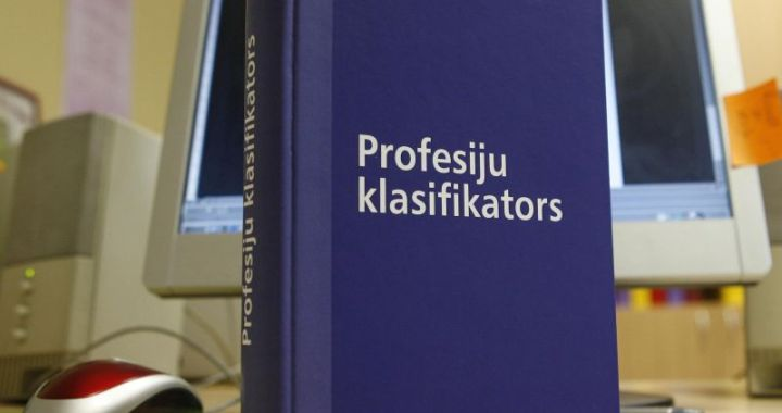 Aktualizēts Profesiju klasifikators