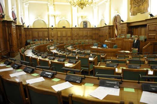 Rīt sākas 2013. gada Saeimas ziemas sesija