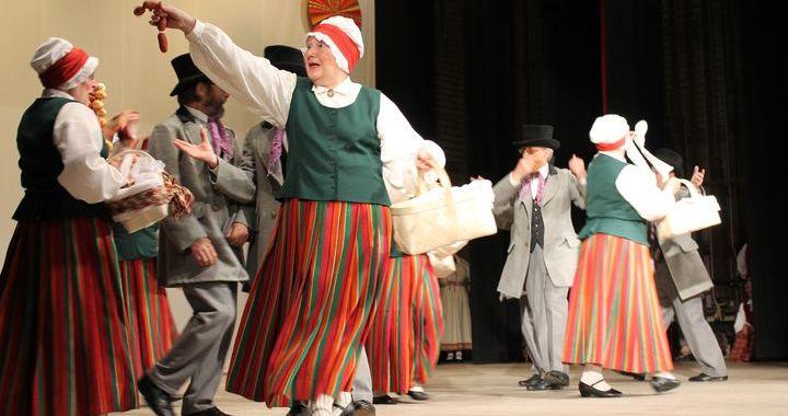 Visu novadu deju kolektīvi tiek uz Deju svētkiem /FOTO/
