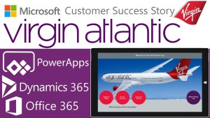 Virgin Atlantic improves internal customer service with Power BI and PowerApps