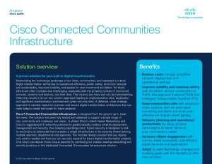 Cisco® Connected Communities Infrastructure