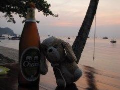 Celebrando el cumple en Koh Tao (Tailandia)