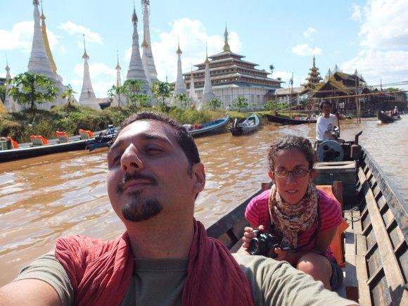 Cruzando el Lago Inle -Birmania