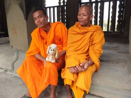 Mis amigos de Angkor Wat (Camboya)