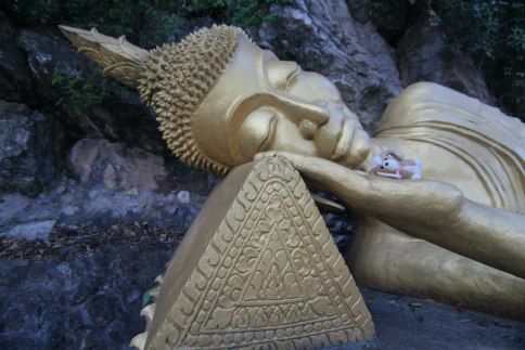 Aprovechando para retomar fuerzas! - Luang Prabang (Laos)
