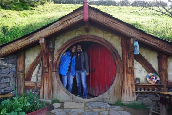 En casa de los Hobbits (Nueva Zelanda)
