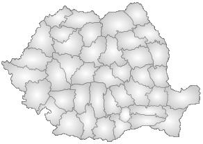 Harta Judetelor Romaniei