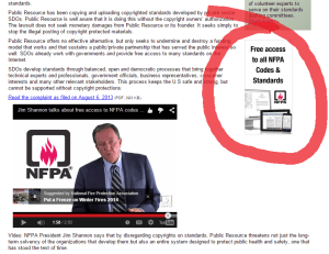 NFPA president explains how to download the NEC 2014 for free, online