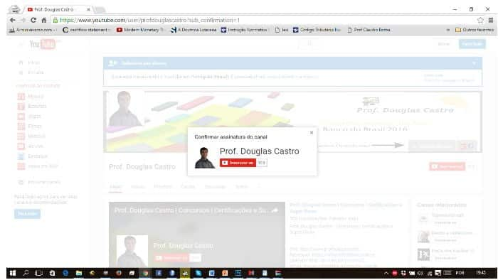 canal youtube url do canal
