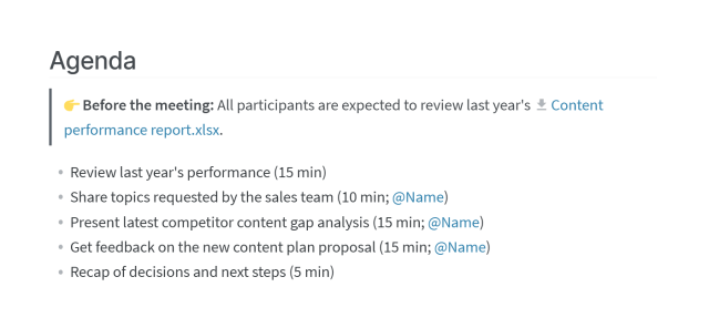 How to Take Meeting Minutes: Templates & Examples
