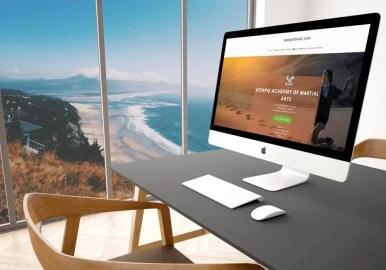 responsive web design kenpoforall.com by NUCONET.com
