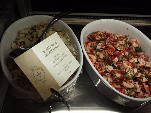 Salades faîtes maison