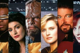 Cast of Star Trek Next Generation at Montreal Comiccon