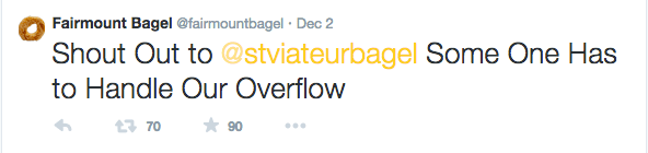 Fairmount Bagels Montreal Mile End Canadian Twitter Yellow
