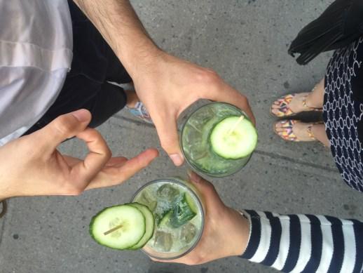 Henri Saint-Henri Drinks Spring Happy Stripes Nautical Montreal