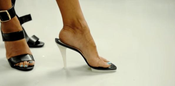 Thesis L.A Los Angeles Heels Woman Footwear Stiletto Black White