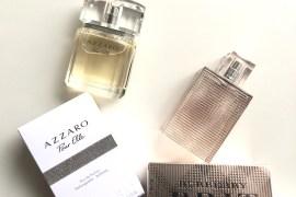 Azzaro Pour Elle and Burberry Brit Rhythm