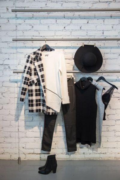 Bestseller Black White Sweaters Knits Denim