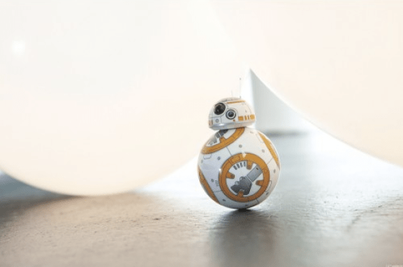 Star Wars The Force Awakens BB-8 app enabled droid